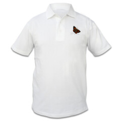 Mens Polo - Red Admiral