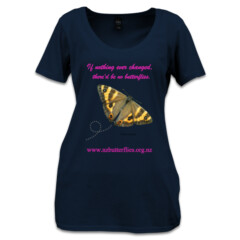 "Womens Tee - Forest Ringlet ""If nothing"""