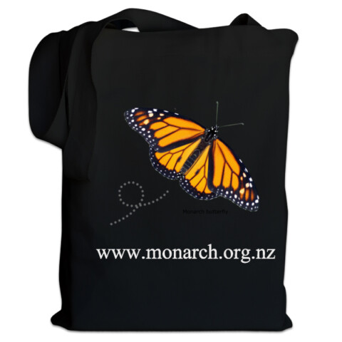 Monarch Tote (both sides) - Moths and Butterflies of NZ Trust store